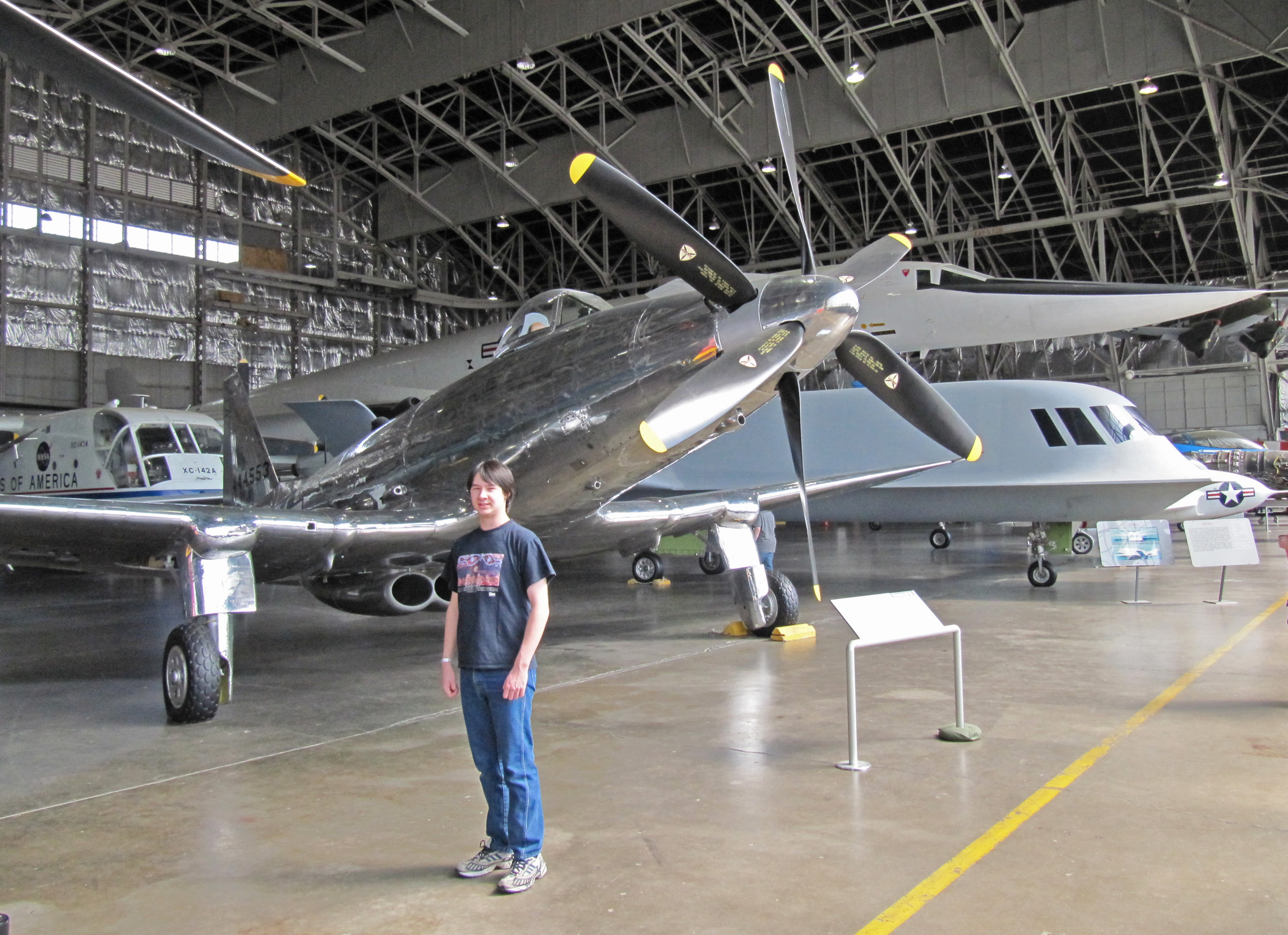 Sebastian In The National Museum Of The Us Air Force