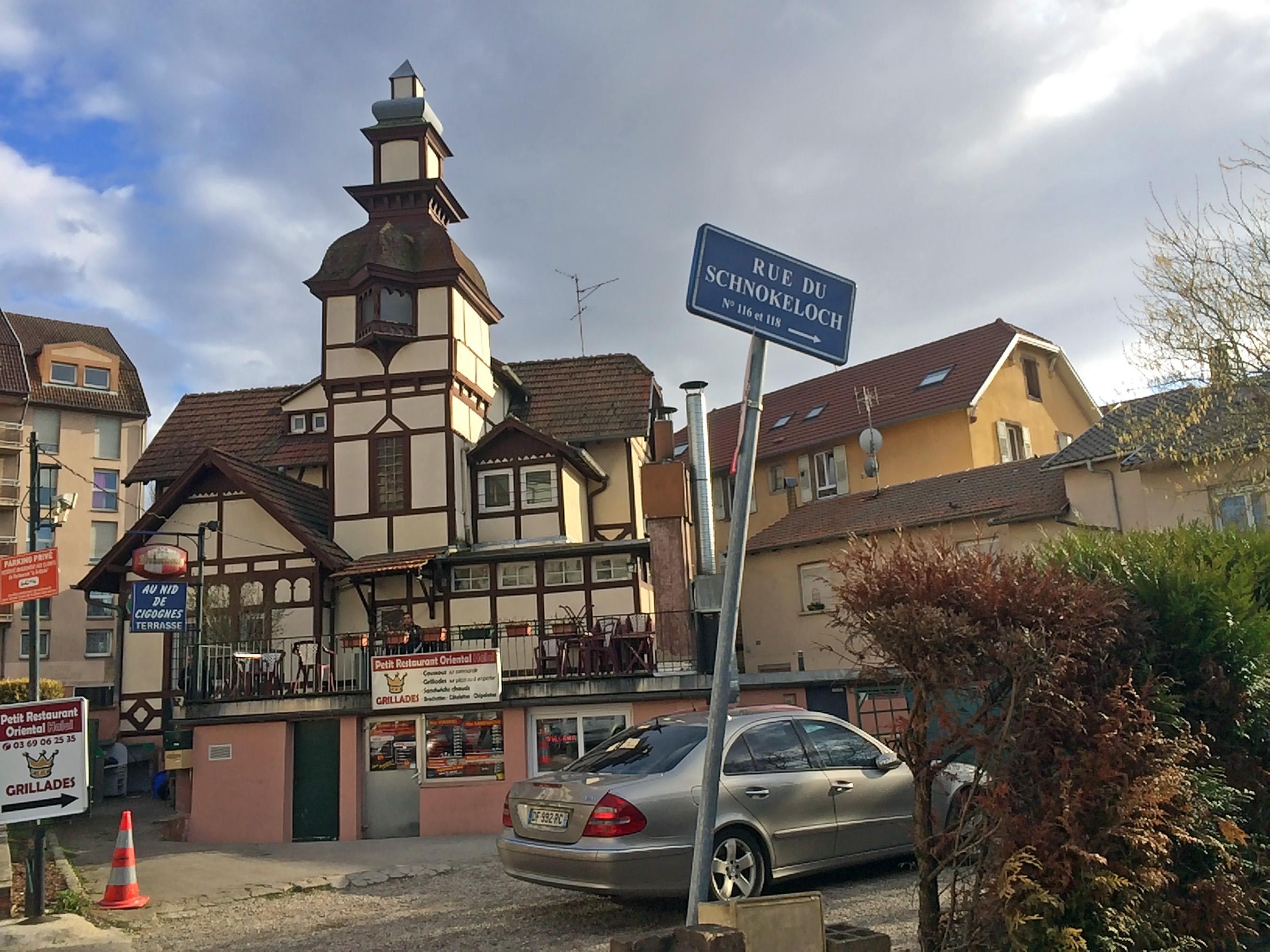 Restaurant Rue Hannong Strasbourg
