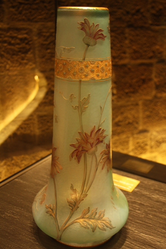 Wedding vase with flowers