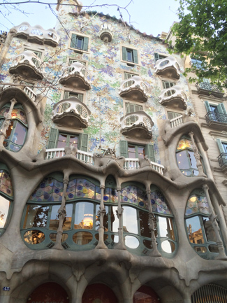 The bones of Casa Batllo