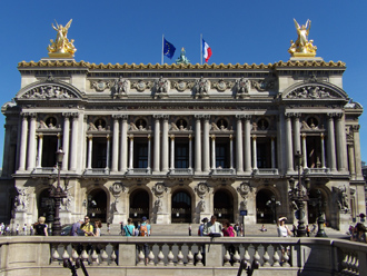 Paris Opera House 巴黎歌劇院 (Photo by Eric and Chun-Chih Hadley-Ives)
