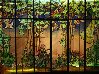 Jaques Gruber's Stained Glass Window Panel