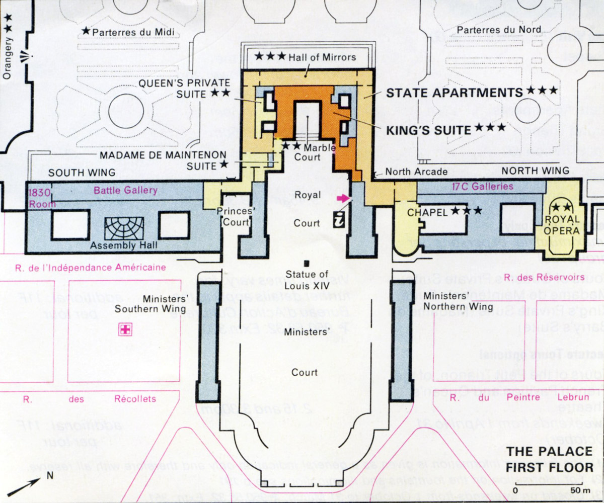 Room Layout Drawing Historylines Versailles