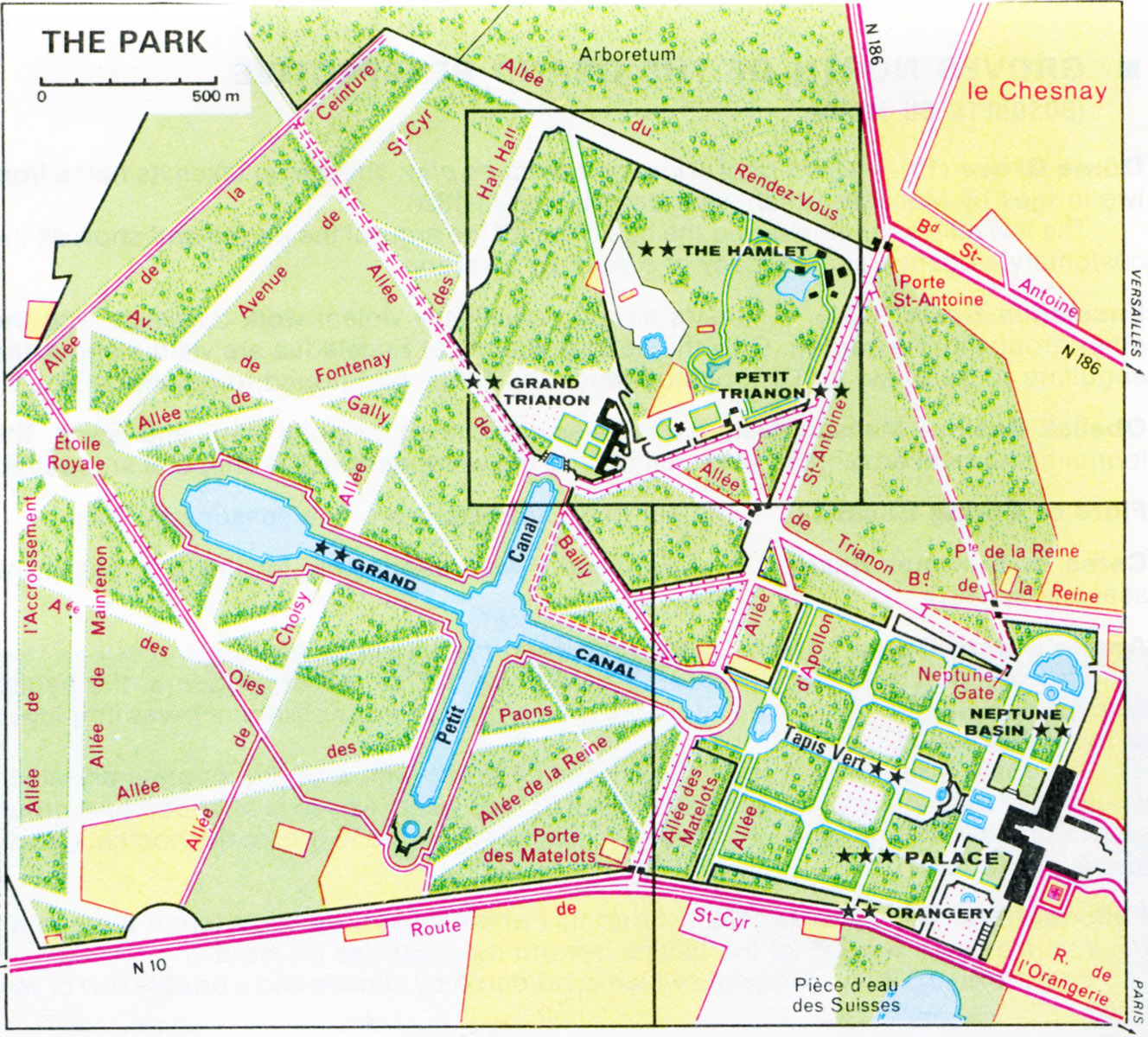Map Of France Versailles.Historylines Versailles